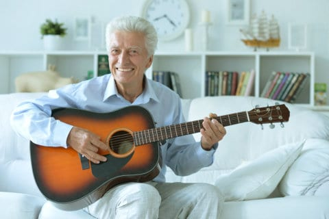 Can Playing Musical Instrument Help a Senior Person?